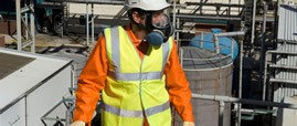 Filtering respiratory protection equipments: gas masks, powered air assisted devices and filters