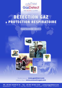 Catalogue Gazdetect : détection gaz & protection respiratoire