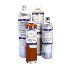 calibration gas cyinders for gases tests