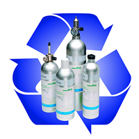 Air products calibration gas cylinder recycling
