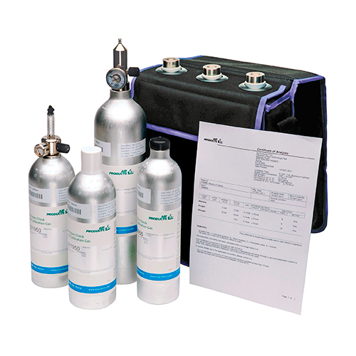 MAP packaging headspace gas analyzer calibration