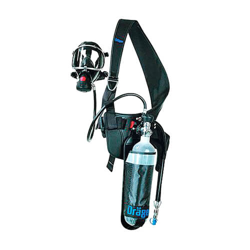 SELF-CONTAINED BREATHING APPARATUS FOR SHORT INTERVENTIONS – PAS COLT